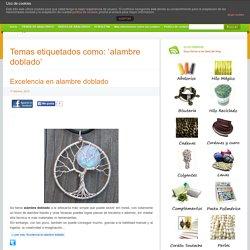 alambre doblado » El blog de LosAbalorios.com