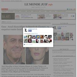 Gaza : Amal Alameddine, la fiancée de Clooney, va enquêter contre Israël