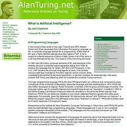 Part 5 - AI Programming Languages