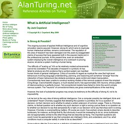 What is AI? Part 13