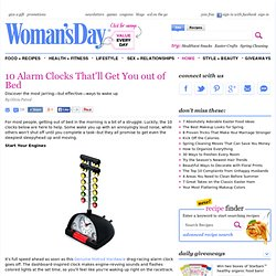 Alarm Clocks - Get Help Waking Up in the Morning at WomansDay.com