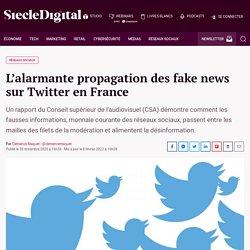 L'alarmante propagation des fake news sur Twitter en France