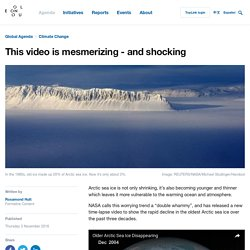 This video shows the alarming reduction in the Arctic's oldest ice