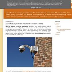 CCTV Cameras Installation Services in Toronto