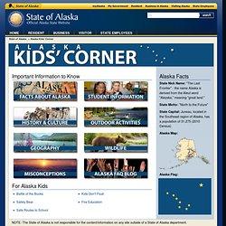 Kids' Corner, State of Alaska