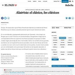 Alatriste: el clásico, los clásicos