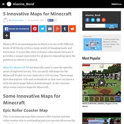 5 Innovative Maps for Minecraft