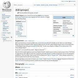 ALB (groupe)