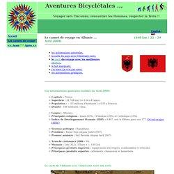 Albanie - Les carnets de voyage - Aventures Bicyclétales