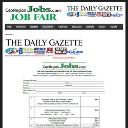 Albany New York Job Fair