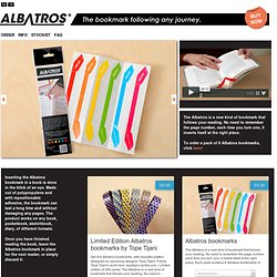 Albatros - The bookmark following any journey