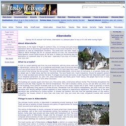 Alberobello Tourist Information