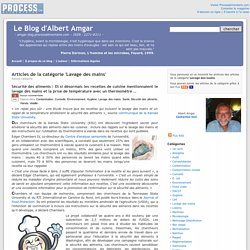 BLOG D ALBERT AMGAR - Articles de la catégorie 'Lavage des mains'.