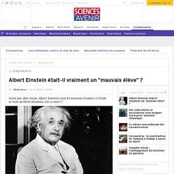 Albert Einstein était-il un bon élève ?