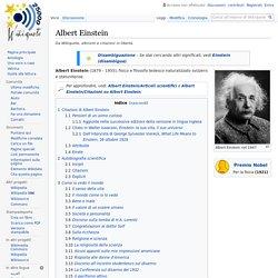 Albert Einstein - Wikiquote