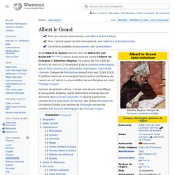 Albert le Grand