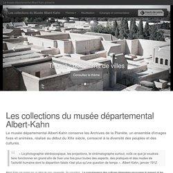 Albert-Kahn : les collections