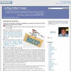 Le Blog d'Albert Amgar, résultats de recherche pour Haccp