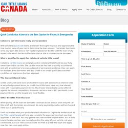 Quick Cash Leduc Alberta is the Best Option for Financial Emergencies