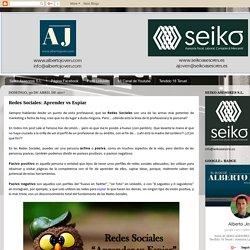 El Blog de Alberto Joven: Redes Sociales: Aprender vs Espiar