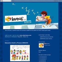 ALBERTOYOS escolar: Educación Infantil y Primaria 2008/2010