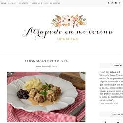 ALBÓNDIGAS ESTILO IKEA