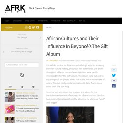 The Gift Album and What it means to Beyonce as she releases new album