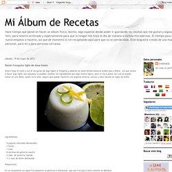 Pastel fresquito light de lima-limón