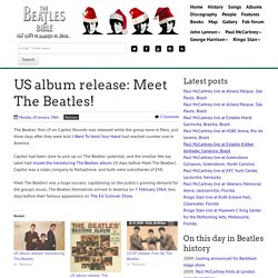 January 20th, 1964 : US album release: Meet The Beatles!