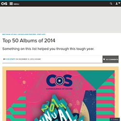 Top 50 Albums of 2014