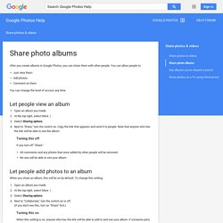 Relive and share your adventures using Stories - Google+ Help
