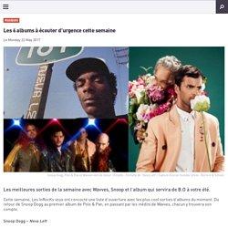 Les 6 albums à écouter d'urgence cette semaine