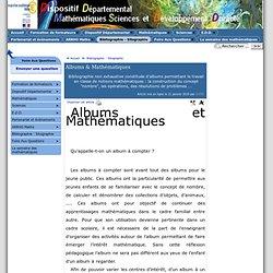 Albums & Mathématiques - [ ]