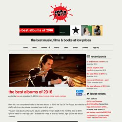 Fopp - The best albums of 2016