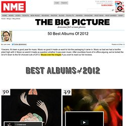 50 Best Albums Of 2012
