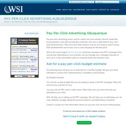 Albuquerque PPC Search Placement Management