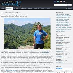 ALC's Tuition Guarantee