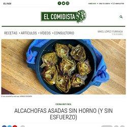 Alcachofas asadas sin horno (y sin esfuerzo)
