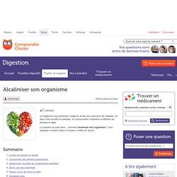 Alcaliniser son organisme - Digestion