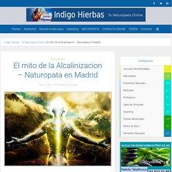 El mito de la Alcalinizacion - Naturopata en Madrid Indigo hierbas