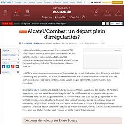 Alcatel/Combes: un départ plein d'irrégularités?
