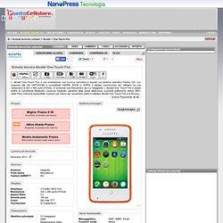 Alcatel One Touch Fire - Scheda tecnica telefono cellulare
