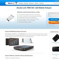 Alcatel Y900 LED 4G Mobile Hotspot