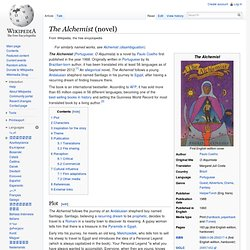 The Alchemist (novel)