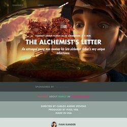 The Alchemist's Letter by Carlos Andre Stevens