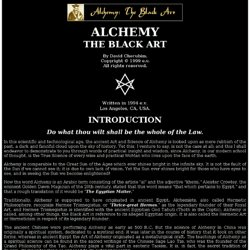 Alchemy in Theory and Practice