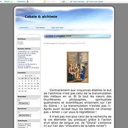 ALCHIMIE ET MENSONGE D'ETAT - Cabale & alchimie