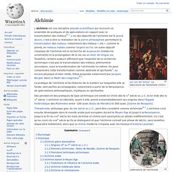 Wikipédia_alchimie