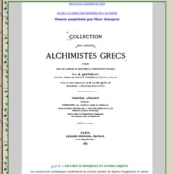 Les alchimistes Grecs : Introduction II.