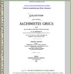 Les alchimistes Grecs : Introduction II.